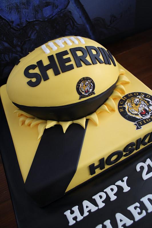 Sandy S Cakes Shaedon S Richmond 21st Football Cake