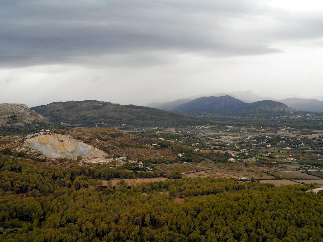 Vista dal Puig De Sant Martí