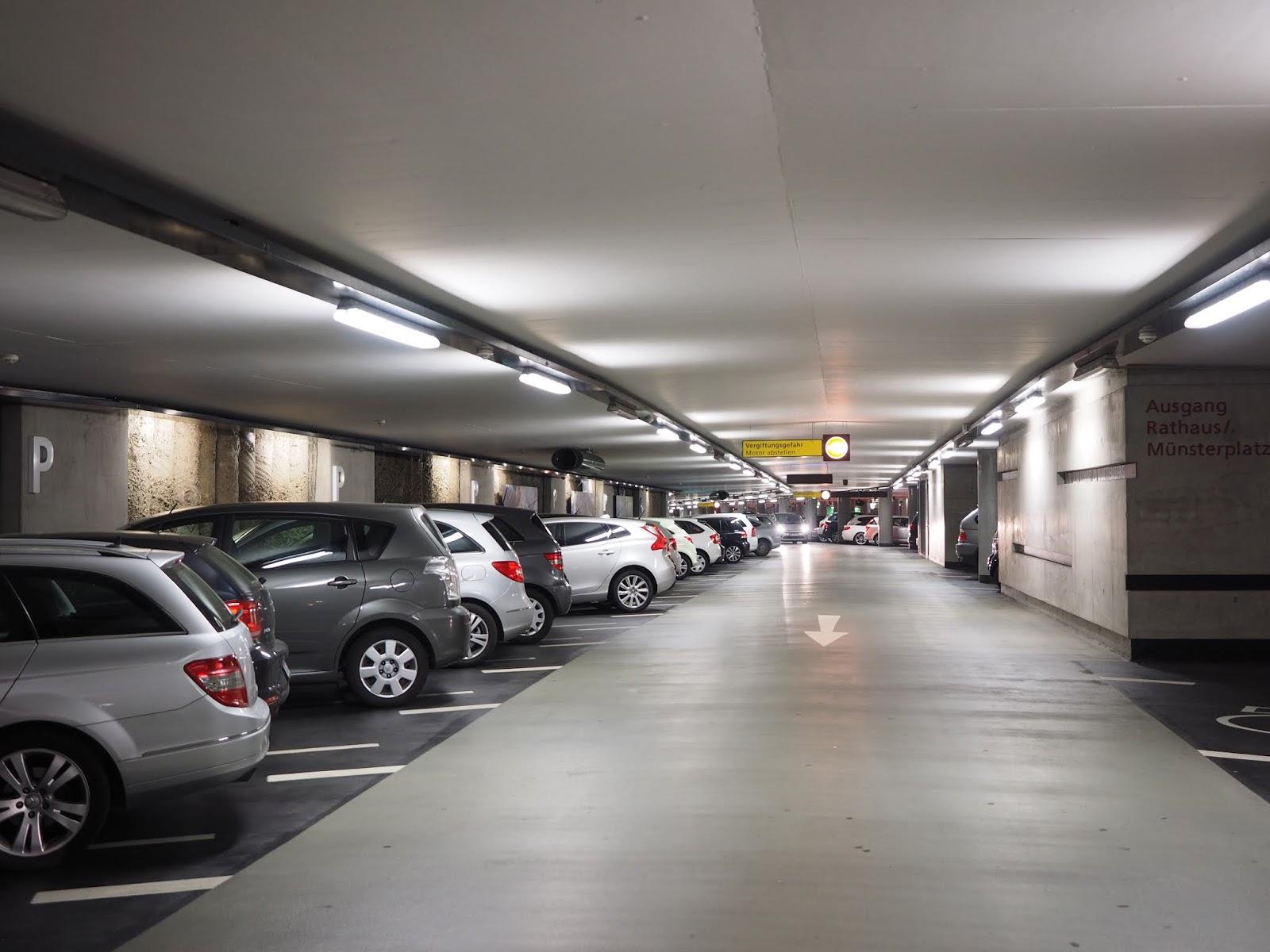 Tầng hầm để xe Premier Berriver