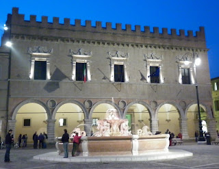 The Palazzo Ducale is a typical palace in Pesaro