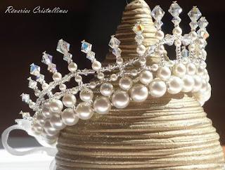 couronne en cristal