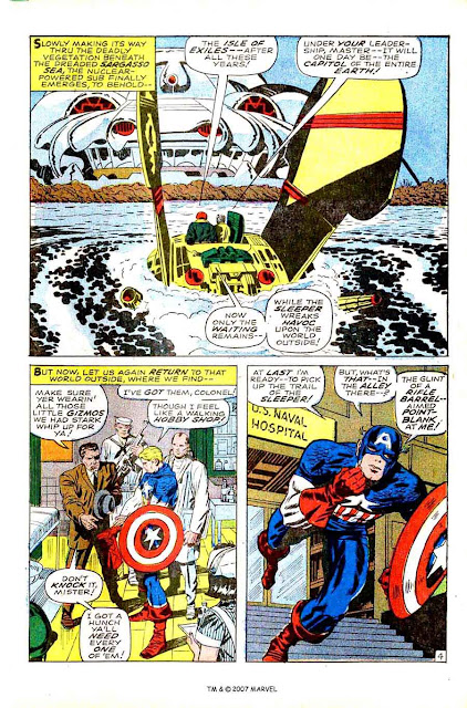 Captain America v1 #102 marvel comic book page art by Jack Kirby