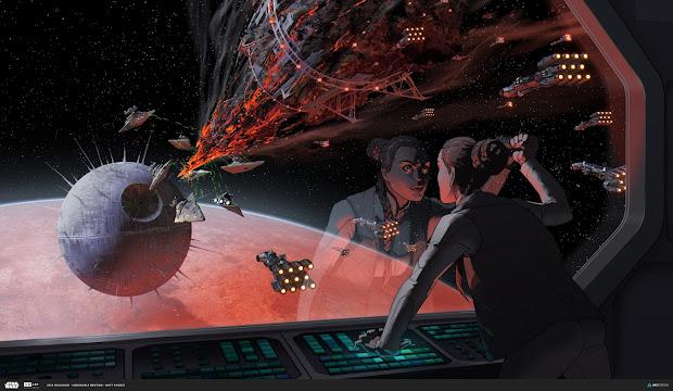 ILM Star Wars Art