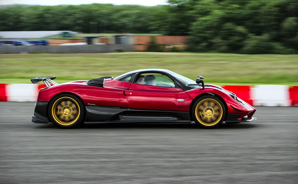 prototype 0: the epic sounds of a pagani zonda f club sport