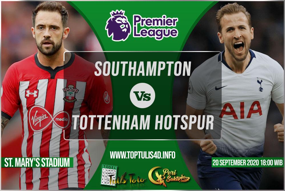 Prediksi Southampton vs Tottenham Hotspur 20 September 2020