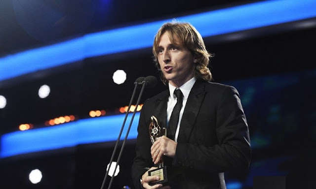 Modric:The Best 2018 como mejor jugador del año