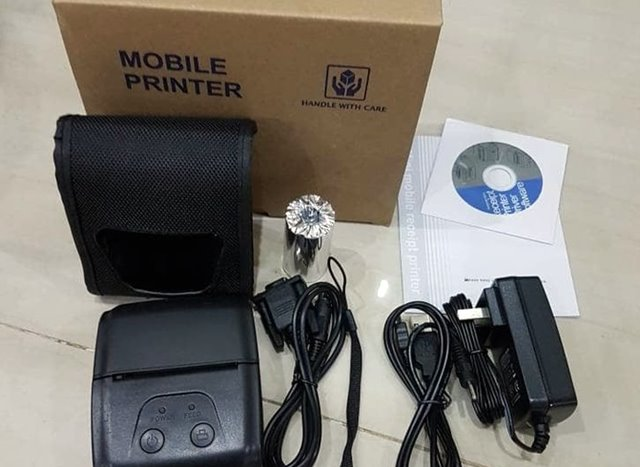 EPPOS Mini Printer Bluetooth EPP200 - Tokopedia