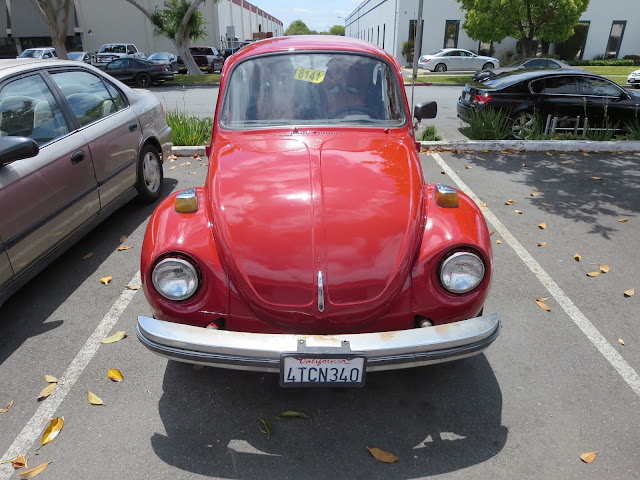 1974 Volkswagen Beetle painted in single stage enamel at Almost-Everything Auto Body