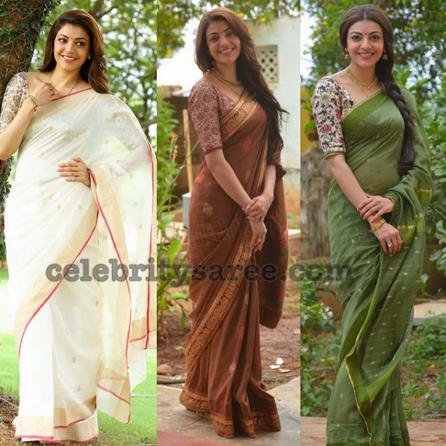 Kajal Cotton Fancy Sarees