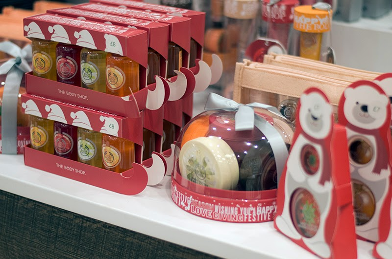 The Body Shop, Christmas, Beauty, Pampering, Bath products, Discount, Exclusive, Event