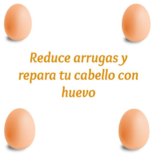 Reduce arrugas y repara tu cabello con huevo