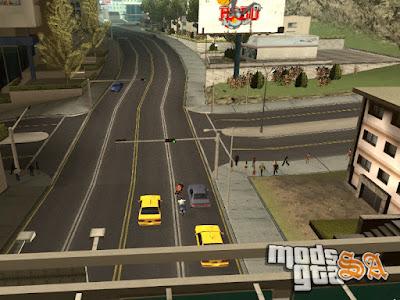 Mod Ruas Brasileiras v1.5 - Los Santos para GTA San Andreas