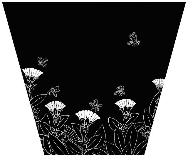 cinco abejas, calendulas