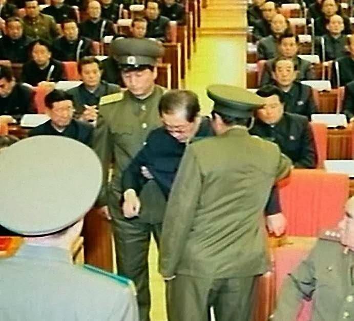 Jang Song Thaek preso de modo humilhante em sessão do Partido Comunista