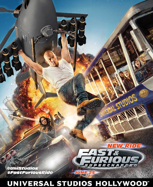 The Fast and Furious – Supercharged na Universal em Orlando