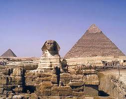 Pyramid & Sphinx Of Giza