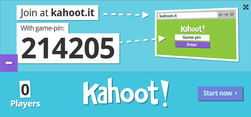 E-Learning at SOAS: Kahoot - create an engaging learning