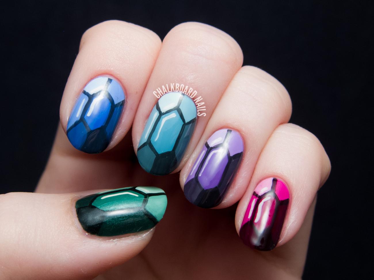 Nail Art: TUTORIAL: Precious Gems Nail Art Inspired By The Ring And