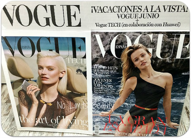 Regalos Revistas Junio 2016 - Vogue