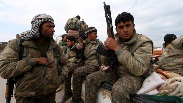 Fuerzas apoyadas por EEUU venden armas a grupos armados en Siria
