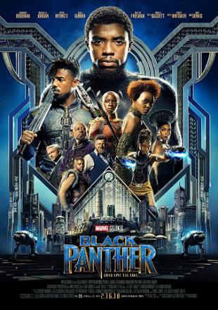 Black Panther 2018 Full Hindi Movie Download Dual Audio BRRip 720p