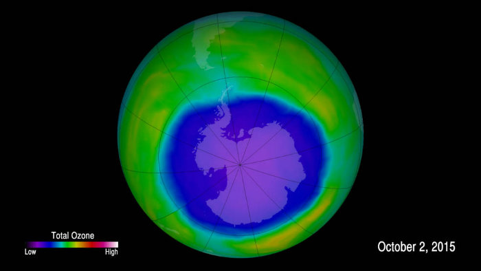 OZONE HOLE WATCH