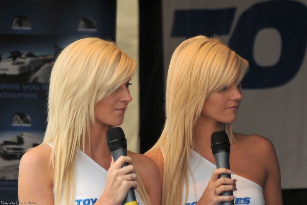 8. Toyo Tyres Twins - Sara & Kirsty Harden by Si