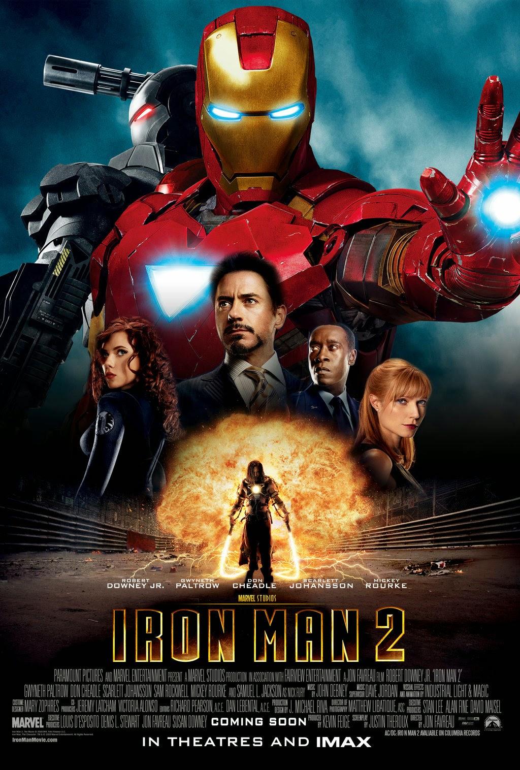 Iron Man 2 (2010) με ελληνικους υποτιτλους
