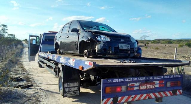 Veículo roubado de pastor no Distrito de Sinimbu em Delmiro Gouveia é encontrado pela Guarda Civil Municipal