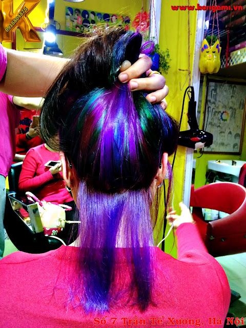 tiết học, 3d, hair color
