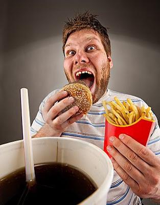 eating, hamburger,