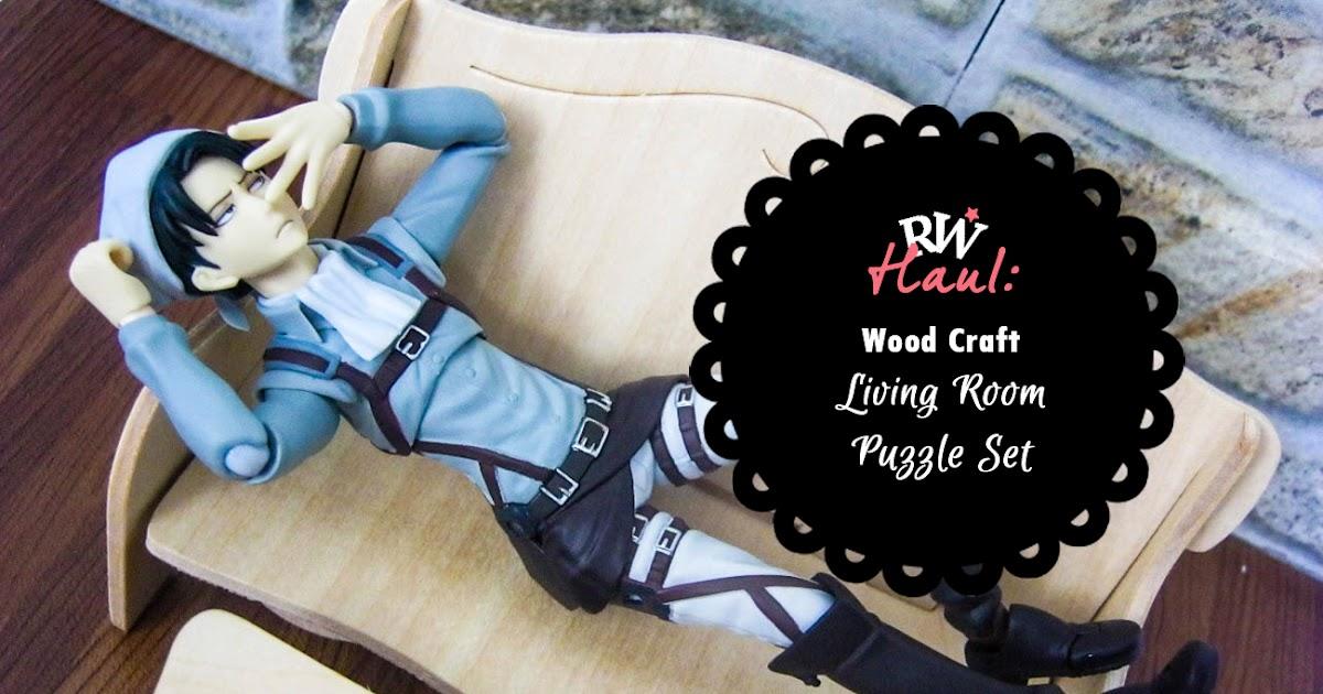 Wood Craft Living Room Puzzle Set Reverie Wonderland