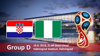 مشاهدة مباراة كرواتيا ونيجيريا بث مباشر بتاريخ 16-06-2018 كأس العالم 2018