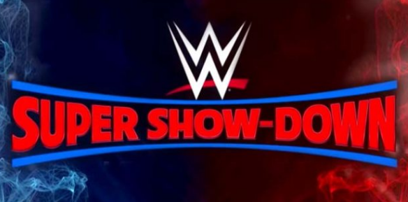 WWE, Super Showdown, 2018, matches, ppv's, picks, card, location, start time, date, live stream, results.