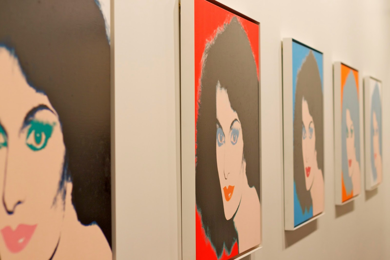 DVF Andy Warhol Painting
