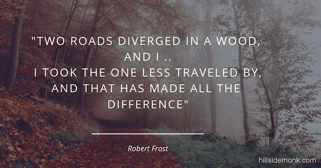 Robert Frost Short Poems-The Road Not Taken