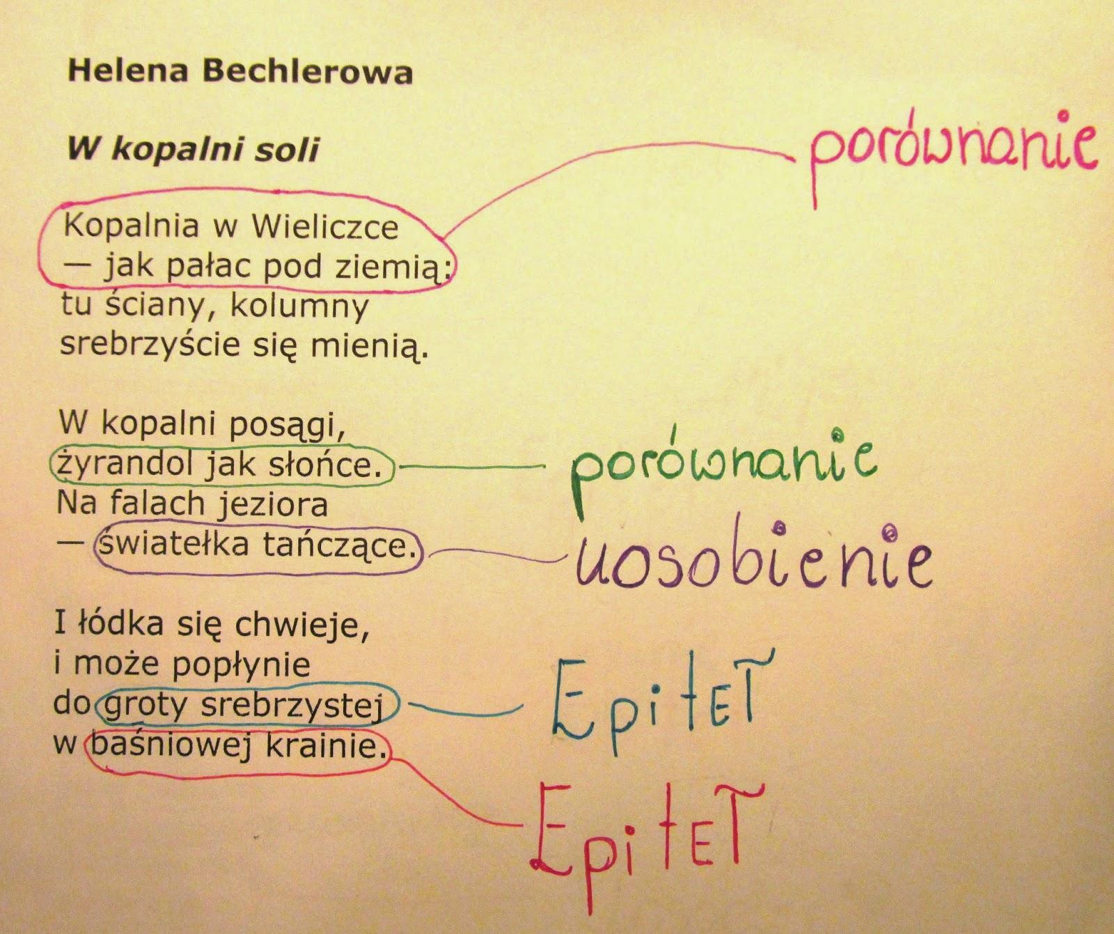 Język Polski Na Piątkę Z Plusem Utrwalamy Znajomość środków