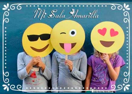 Juegos con máscaras caretas emojis