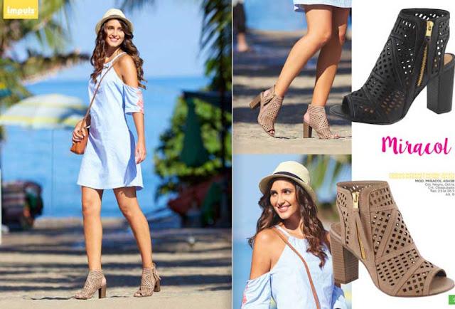 sandalias vestido impuls 2020