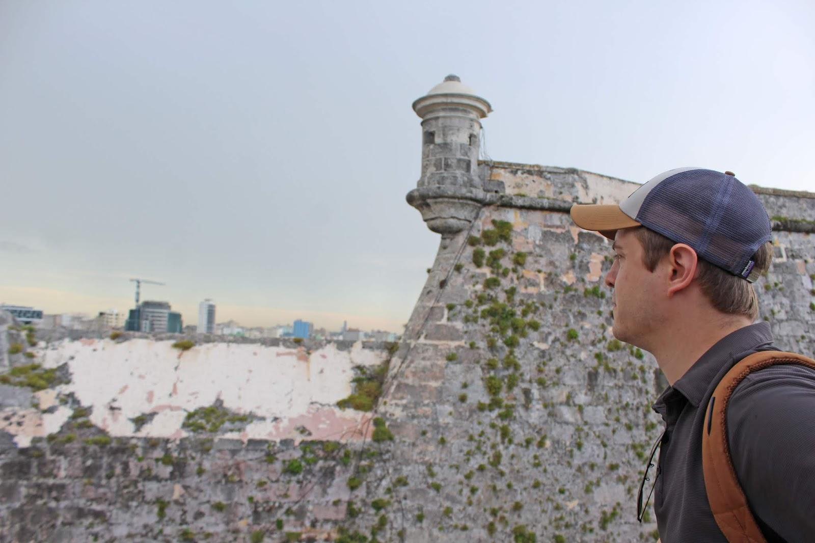 el Morro making restorations blog 13