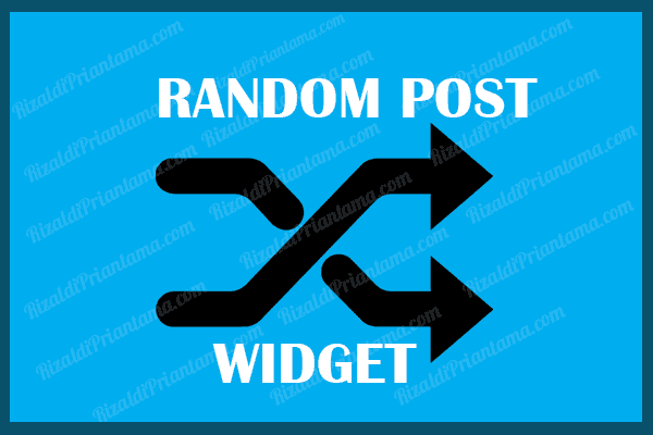 Cara Membuat Custom Random Post Responsive Sidebar Blogger