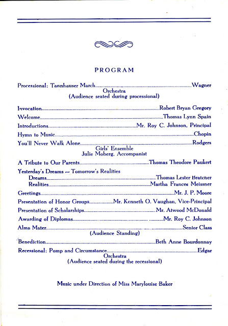 Eastern Hills High School Ehhs Highlanders Graduation Programs