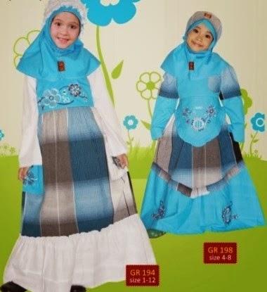 Baju Muslim Anak perempuan Dari Keke Collection