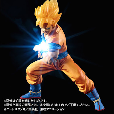Action Figure LED Son Goku Kamehameha 05