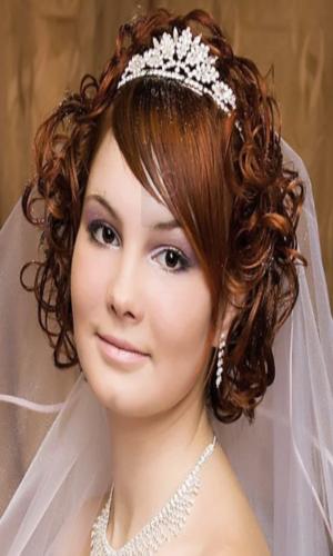 Coiffure de mariage civil
