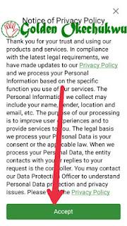 Accept Scooper Privacy Policy