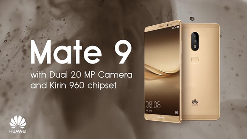 2-) Huawei Mate 9 : 1,64 Watt