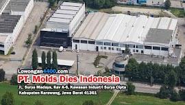 Lowongan Kerja PT. Molds Dies Indonesia Surya Cipta Karawang