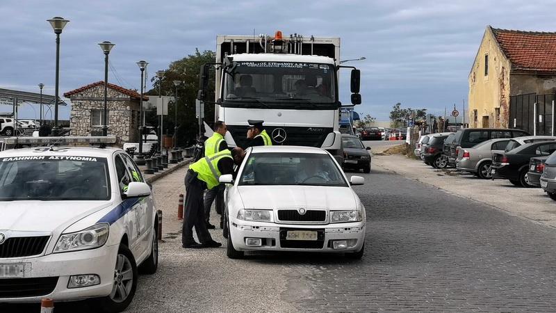 Απορριμματοφόρο του Δήμου Σουφλίου κυκλοφορούσε παράνομα χωρίς πινακίδες, άδεια και ασφάλεια