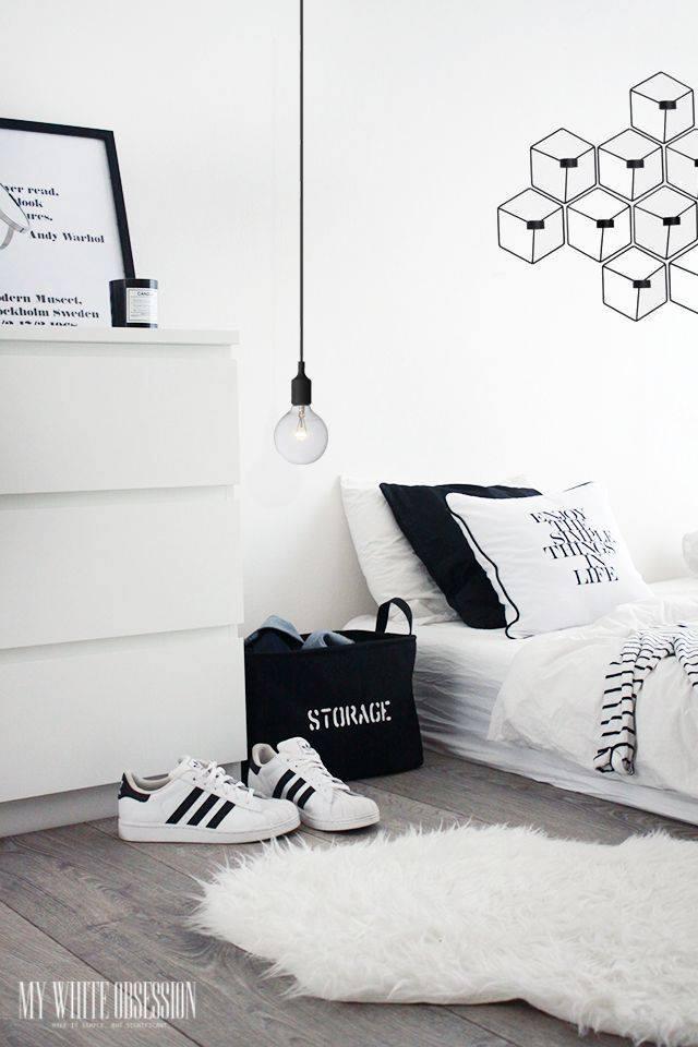 Jom Kita Layankan Gamba Gambar Dekorasi Bilik Tidur Tema Hitam Putih